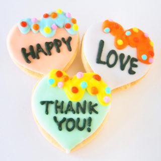 Thank You! Icing Cookies!